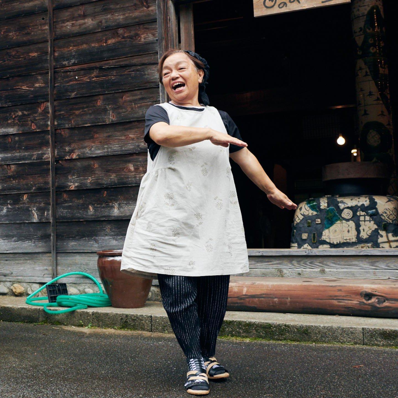 staff member of Ubusuna House Matsuno Komiyama